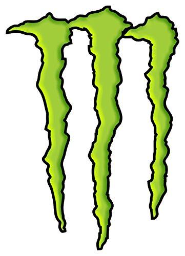 Kaufen Monster Energy Aufkleber Grün Kratzerkralle