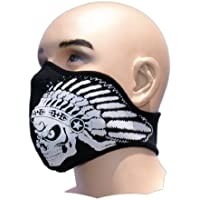 Bestellmich Tattoo - Máscara parcial de neopreno