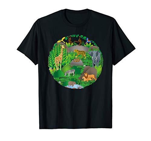 imal Birthday Mom Dad Crew Circle Tshirt T-Shirt ()