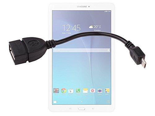 Adaptateur OTG prise USB à micro USB pour Samsung Galaxy Tab E 9.6 SM-T560, SM-T561 tablette tactile - DURAGADGET