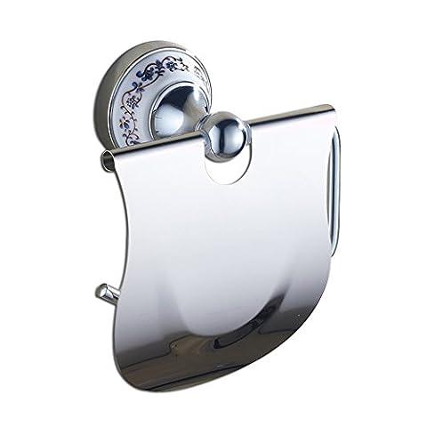 Home mall- Hardware Badezimmer Toilette Papierschachtel Papier Handtuchhalter Papierhandtücher Badezimmer Kupfer ( Farbe : Chrome )