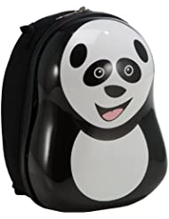 The Cuties And Pals Panda Backpack - White by The Cuties and Pals