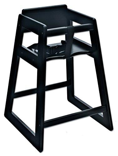 "Koala Kare KB800-22 Deluxe Wood High Chair, black , 21"" Height, 20"" width, 29"" Length"