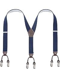 Nouveau unisexe femmes hommes duty bretelles bretelles élastique réglable slim fantaisie ceinture