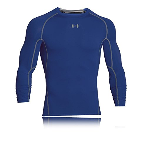 Under Armour Herren HeatGear Armour Unterhemd, Blau royal blue, Gr. L Herstellergröße LG