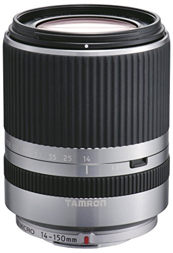 Tamron 14-150 mm F/3.5-5.8 Di III Objektiv für Micro Four Thirds silber