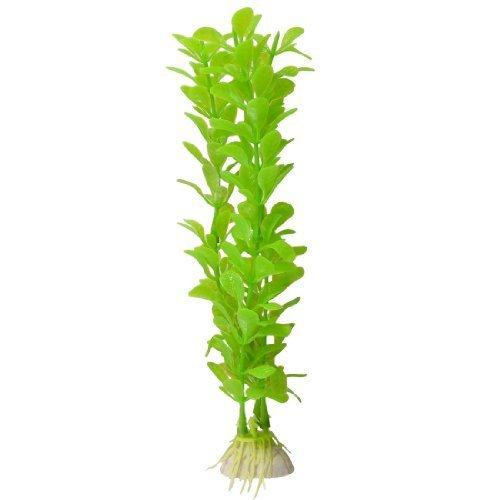 sourcingmap® Künstlich Grün Kunststoff Wasser Wasserpflanze Pflanzen für Aquarium Spielen de