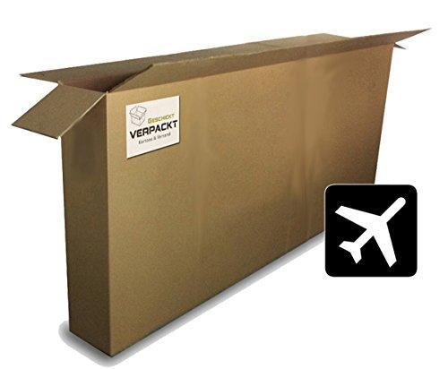 Fahrradkarton/-verpackung (1 Stk) für Flugzeugtransport 1800x250x1000mm 2-wellig