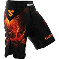 SMMASH MMA Pantalones Cortos Diablo S M L XL XXL MMA BJJ UFC Boxen K1 (L)