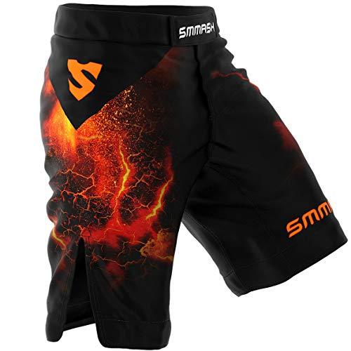 Smmash Shorts DIABLO Boxen Kampfsport MMA BJJ UFC - Größe S M L XL XXL (L)