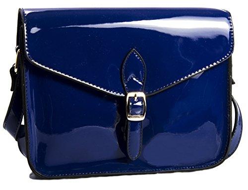 Big Handbag Shop , Sacs bandoulière femme - Bleu - bleu marine, taille unique