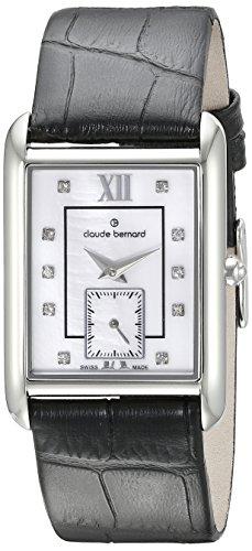 Claude Bernard Women's 23097 3 NAPN Ladies Fashion Analog Display Swiss Quartz Black Watch