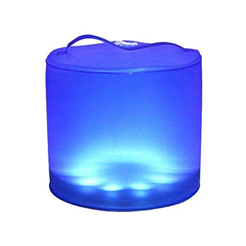 Expower Lampada Impermeabile Lanterna Led a Energia Solare, Lampadino Gonfiabile Super Luminoso Ricarica Solare Luce per Emergenza Campeggio Tenda Pub Giardino Outdoor Attività all