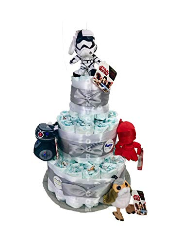 Tarta de pañales DODOT Star Wars Talla 3 4-9 kg