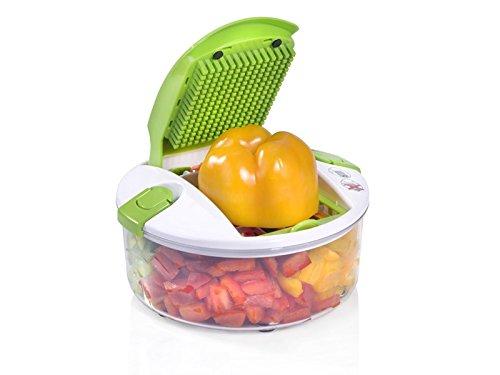 Genius Salat Chef Smart Set 6-tlg. Salat Obst Gemüse Schneider Schäler Hobel NEU, Farbe:orange - 2