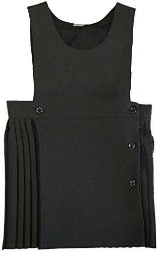Uniforme École Fille Robe Cache-cœur Plissé Bavoir Salopette Enveloppant Robe Été Only Uniform CreativeMinds UK
