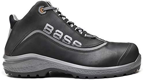 Boden Schutz bas-b873-7Größe 7UK be-Free Top-Schwarz Martens Steel Toe Boot