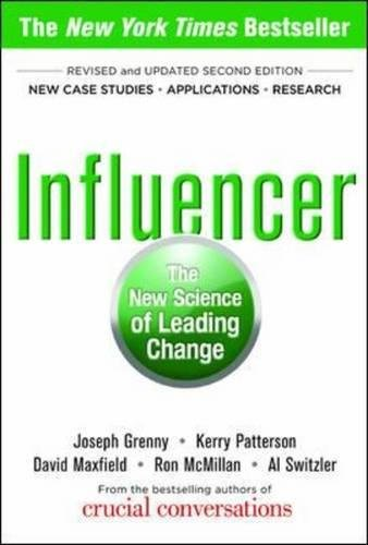 Influencer: The New Science of Leading Change par Joseph Grenny