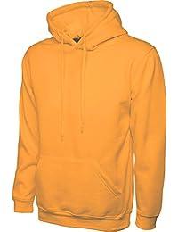 Uneek UC502 Mens Classic Plain Pullover Hooded Sweatshirt Hoodie Sweater XS-4XL
