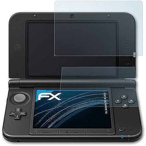 Displayschutz@FoliX - Pellicole proteggi schermo per Nintendo 3DS XL, confezione da 3, colore: Trasparente