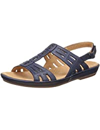 Hush Puppies Women's Leather Fashion Sandals