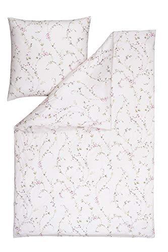 Estella Mako-Interlock-Jersey Bettwäsche Vivien rosa 1 Bettbezug 135x200 cm + 1 Kissenbezug 80x80 cm