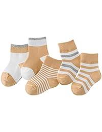 0251fcfef85 5er Pack Baby Cotton Socks set Infants Toddler Kids Breathable Lovely 0-10  Years