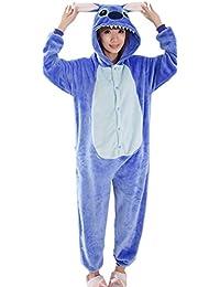 Y-BOA 1Pc Pyjama Combinaison Coton Femme Taille L