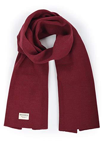 DESIRES Biggi Damen Schal Winterschal, Größe:ONE SIZE, Farbe:Wine Red Melange (8985)