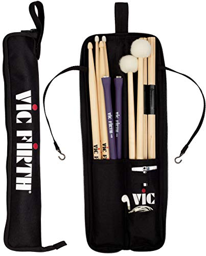 Vic Firth Essentials Stick Bag - Black with Logo