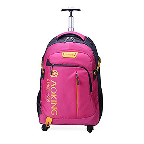 QWERASD Reisetasche Sporttasche für Männer und Frauen Bag Mit Schuhfach Für Gepäck Weekender Travel Gym Trainingstasche Saunatasche,Red -