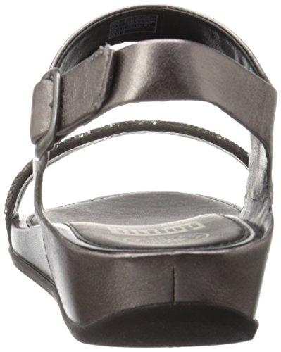 Fitflop Banda Roxy Peltro Sandalo (con Backstrap) Peltro