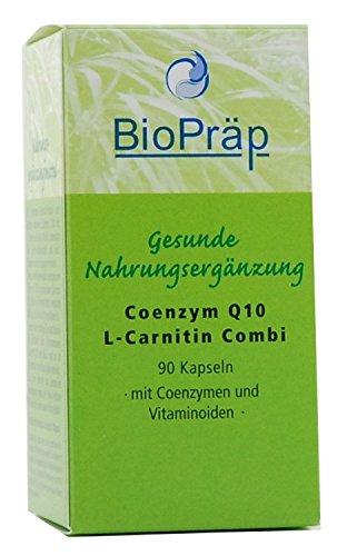BioPräp Q10 & L-Carnitin Kaps. 90St. -