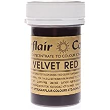 Sugarflair Spectral Edible Food Colouring Colour Paste Icing 25G - Velvet Red