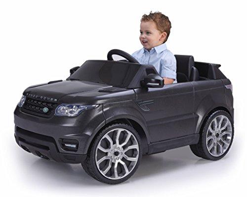 FEBER- Range Rover Sport Coche eléctrico para niños de 3 a 7 años de Juguete, 6V, Color Negro (Famosa 800009610)