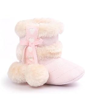 HKFV Baby Boy Soft Booties Schneeschuhe Infant Kleinkind Neugeborenen Erwärmung Schuhe Baby Ball weiche Basis...