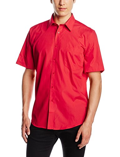 Fruit of the Loom Camicia Uomo Red