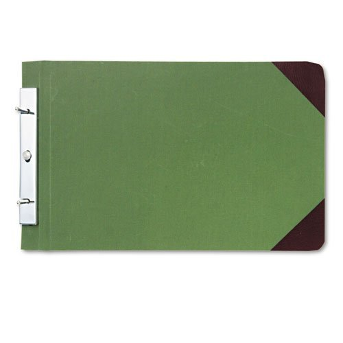 canvas-sectional-post-binder-8-1-2-x-14-4-1-4-center-green-sold-as-1-each-by-wilson-jones