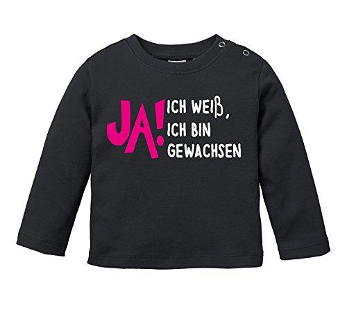 JA! Ich weiß, ich bin gewachsen - Bio Baby Longssleeve (Bio-baumwolle T-shirt Erwachsene)