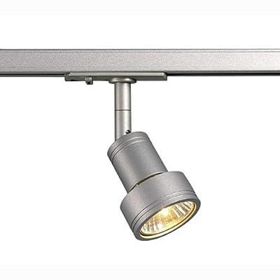 Strahler PURI, GU10 50W inkl. 1-Phasen-Adapter, silbergrau EEK: E - A++ von SLV - Lampenhans.de