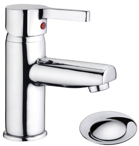 Cornat Waschtischarmatur SKAGEN chrom| Wasserhahn / Badarmatur / Waschbeckenarmatur / Einhebelmischer / Badezimmer / SKA1