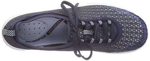 Rockport Walk 360 Laceup Damen Sneakers Blau (DEEP OCEAN)