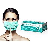 Medrull OP Vlies Mundschutz Maske 3-lagig 50 Stück Box Latexfrei preisvergleich bei billige-tabletten.eu