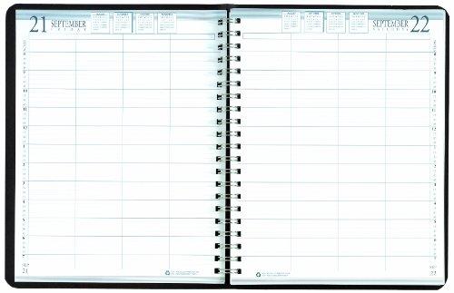 House of Doolittle Tägliche Gruppen-Praxis 4-Person Hardcover Planner, 12 Monate Januar 2013 bis Dezember 2013, 8 x 11 Zoll, recycelt (HOD28292) (4 Personen Gruppen)