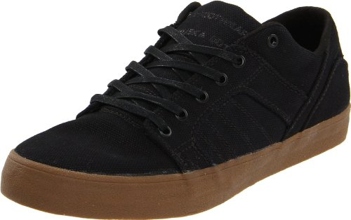 SUPRA Skylow Black Canvas Gum Nero (nero)