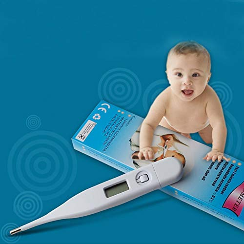 Thermometer Digital Medical Fever Thermometer Basalthermometer, wasserdichtes und staubdichtes Körperthermometer