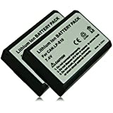M&L Mobiles® | 2x Batterie LP-E10 | LPE10 pour Canon EOS 1100D | EOS Rebel T3 | EOS KISS X50