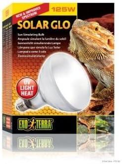 Watts Exo Terra solar-glo alta intensidad self-ballasted UV/calor, vapor bombillas lámpara de vapor de mercurio