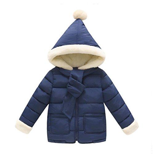 Baby Mäntel Herbst Mädchen Jacken Warme Kinder Coats SOMESUN Bekleidung 2017 (36 Monate, Marine) (Superheld Halloween Schablonen)