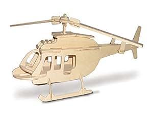 Bell 206 hélicoptère QUAY Kit de construction en bois FSC